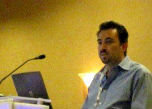 Pierre Zarokian speaking at Pubcon